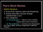 poe s short stories