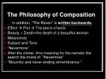 the philosophy of composition45