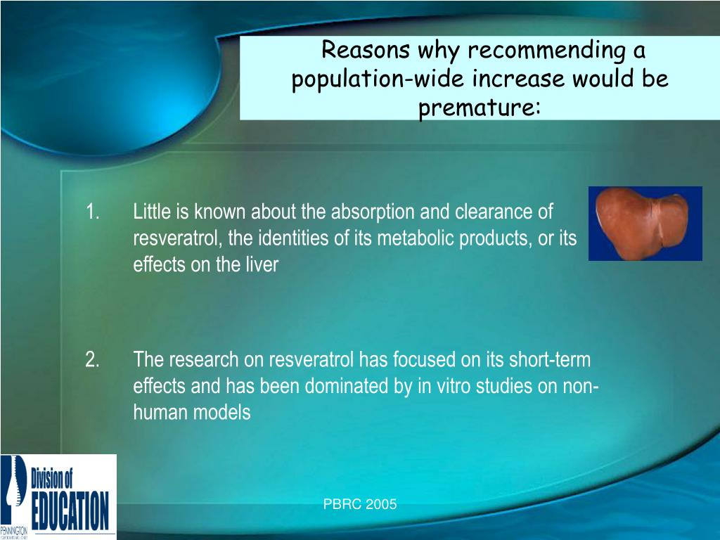Reasons why recommending a    population-wide increase would be premature: