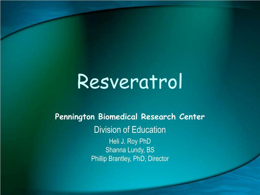 resveratrol l.
