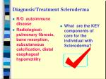 diagnosis treatment scleroderma