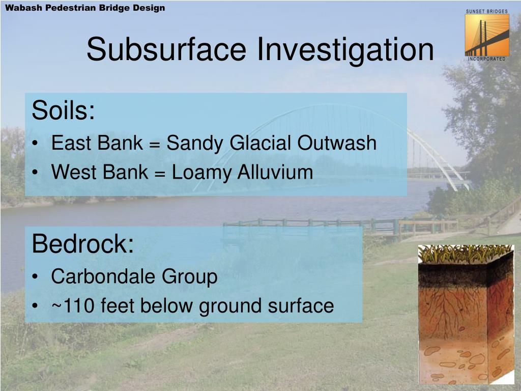 Subsurface Investigation
