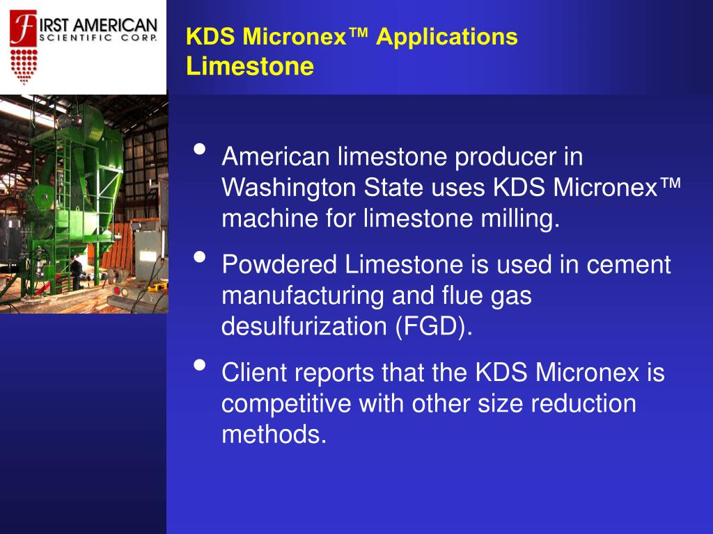 KDS Micronex™ Applications