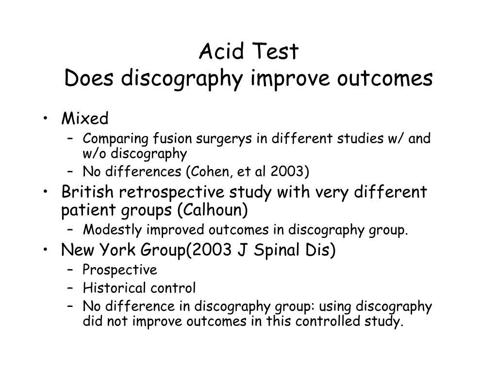 Acid Test