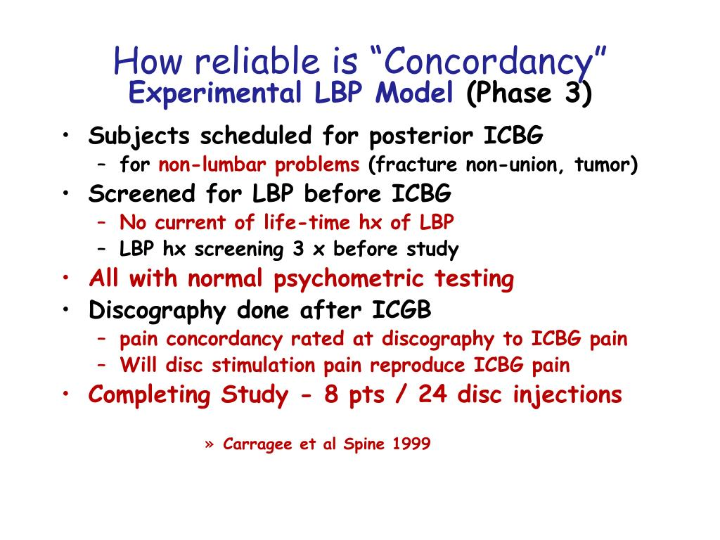 """How reliable is """"Concordancy"""""""