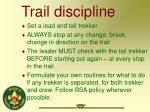 trail discipline