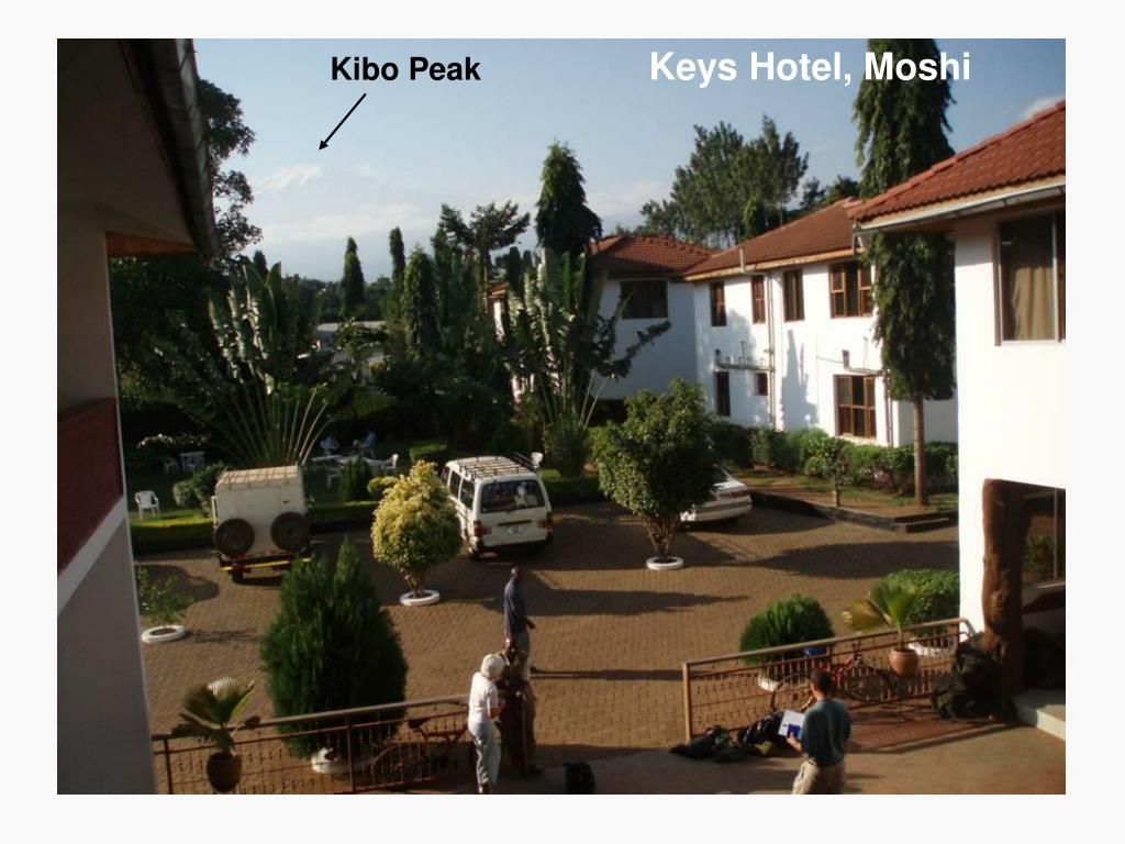 Keys Hotel, Moshi