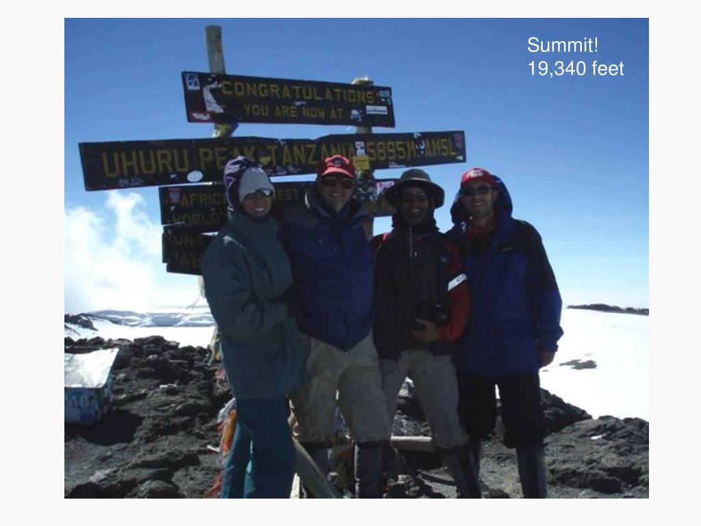 Summit!