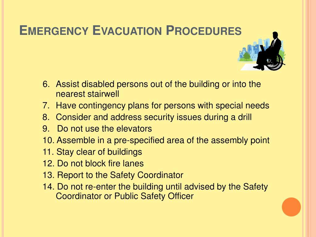 5+ Church Evacuation Plan Templates in PDF