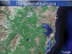 the town of larnaca