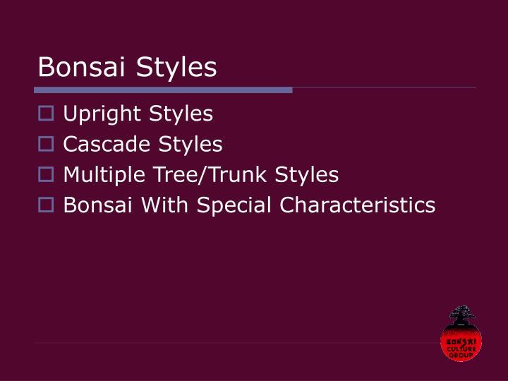 Bonsai styles3