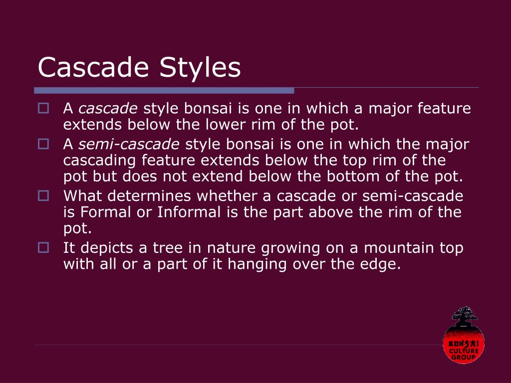 Cascade Styles
