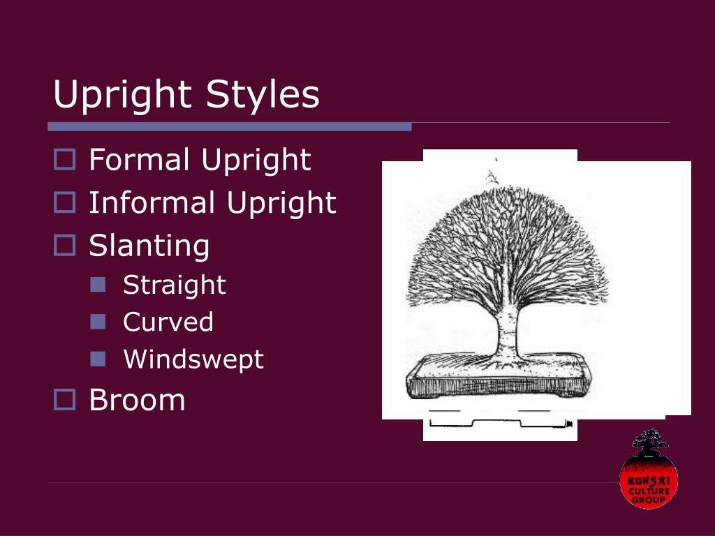 Upright Styles