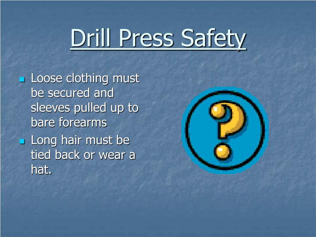 Ppt Drill Press Powerpoint Presentation Id 278716