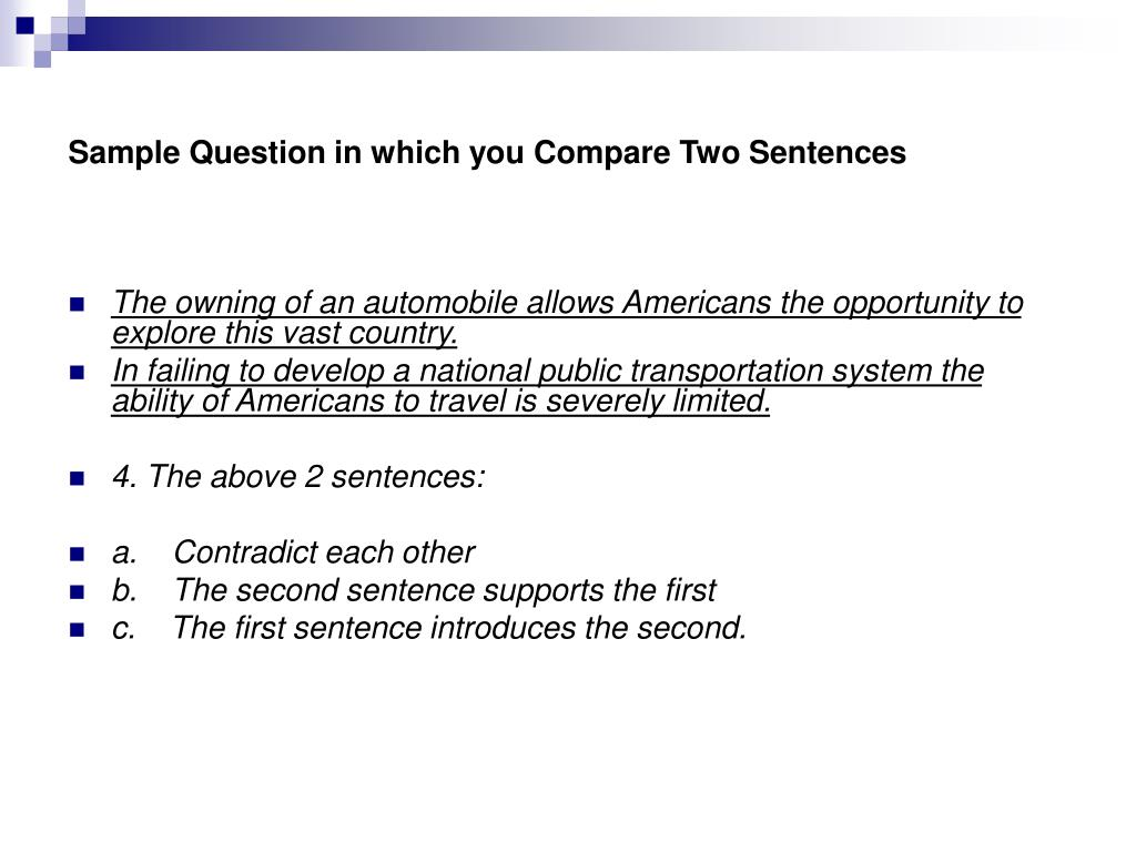 PPT - Accuplacer Reading Comprehension Test PowerPoint