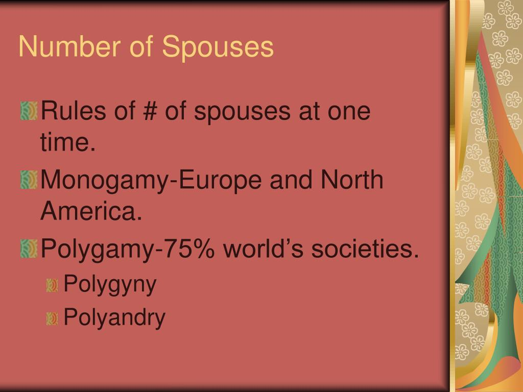 Number of Spouses