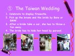 the taiwan wedding