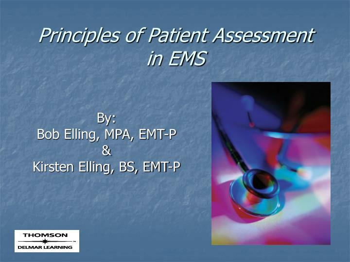 principles of patient assessment in ems n.