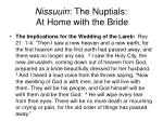 nissuuin the nuptials at home with the bride29
