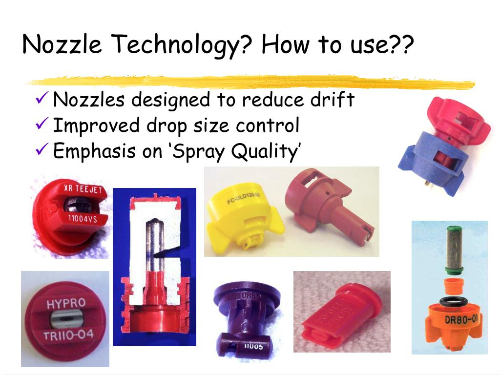 Nozzle Technology? How to use??
