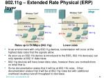 802 11g extended rate physical erp layer2