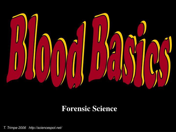 forensic science n.