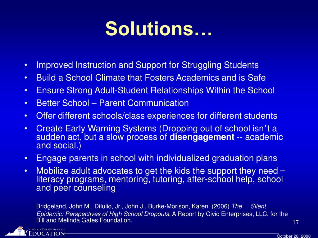 Solutions…