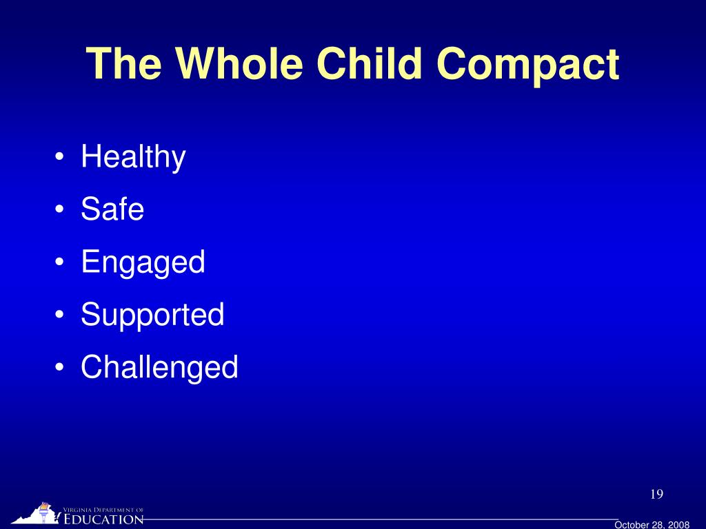 The Whole Child Compact