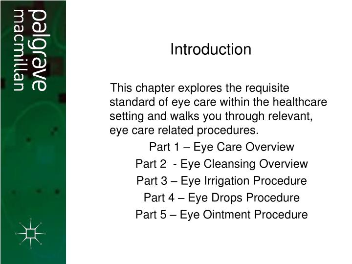 Ppt Eye Care Powerpoint Presentation Free Download Id 278979