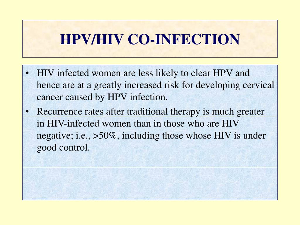Caz clinic hiv hpv