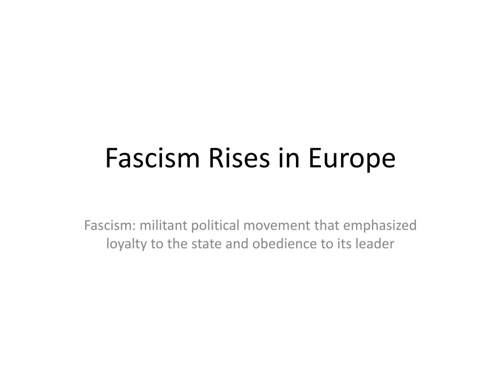 fascism rises in europe The far-right leaders hoping to take power in 2017  the syrian national flag rises in the midst of damaged buildings in daraa-al-balad an  europe's new fascism.