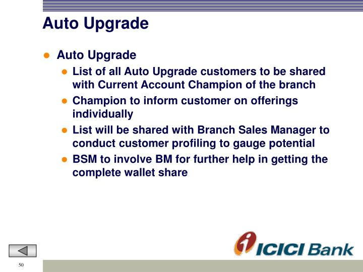 Auto Upgrade