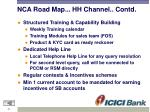 nca road map hh channel contd