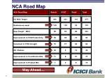 nca road map