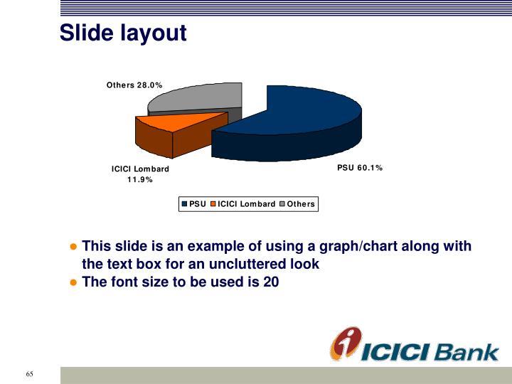 Slide layout