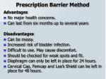 prescription barrier method23