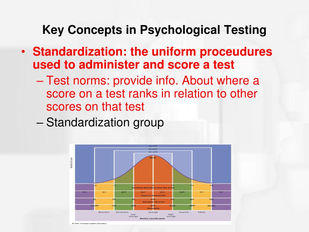 PPT - Chapter 9: Intelligence and Psychological Testing