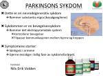 parkinsons sykdom