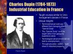 charles dupin 1784 1873 industrial education in france
