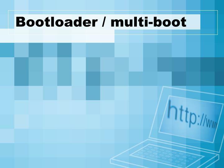 bootloader multi boot n.