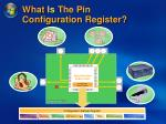 what is the pin configuration register36