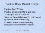 docker river camel project