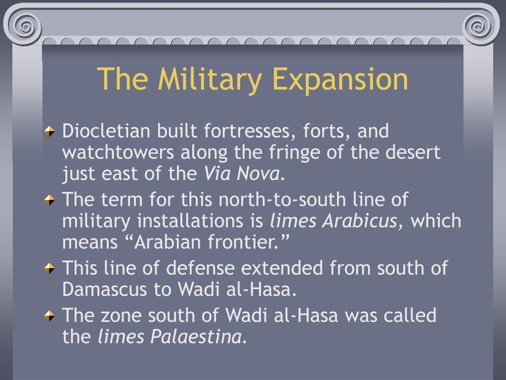 The Military Expansion