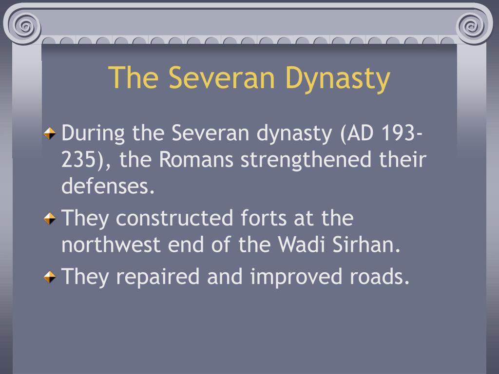 The Severan Dynasty