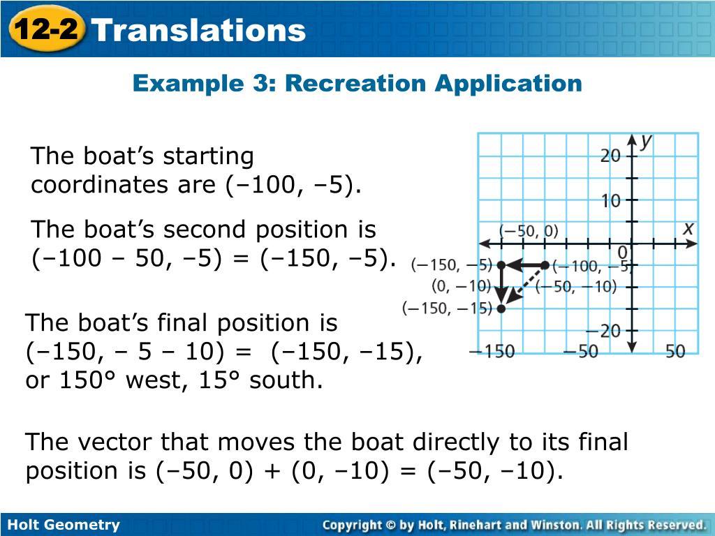 Example 3: Recreation Application