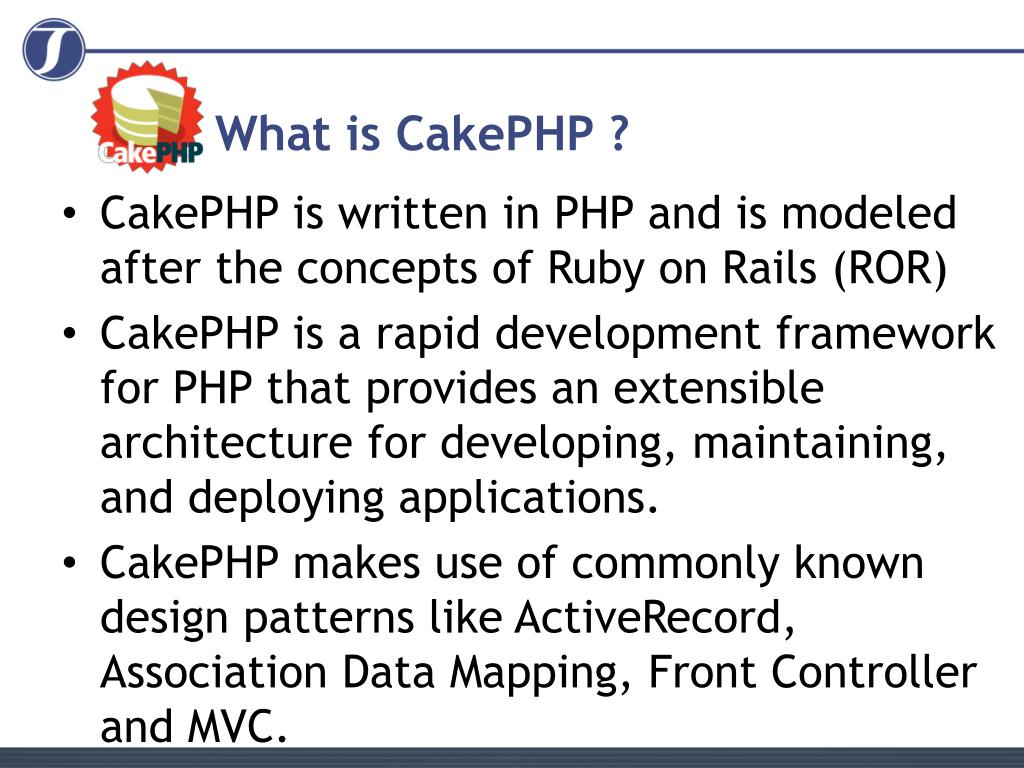 What is CakePHP ?