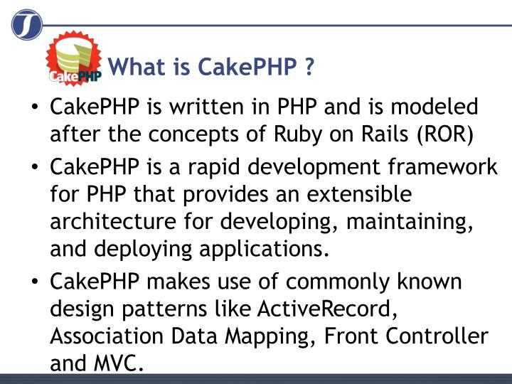 What is cakephp