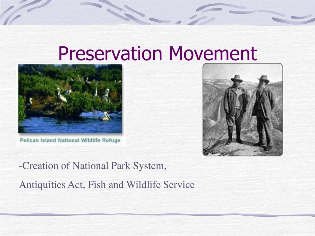 Preservation Movement