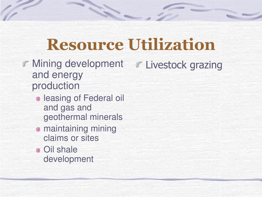 Mining development and energy production