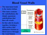 blood vessel walls7